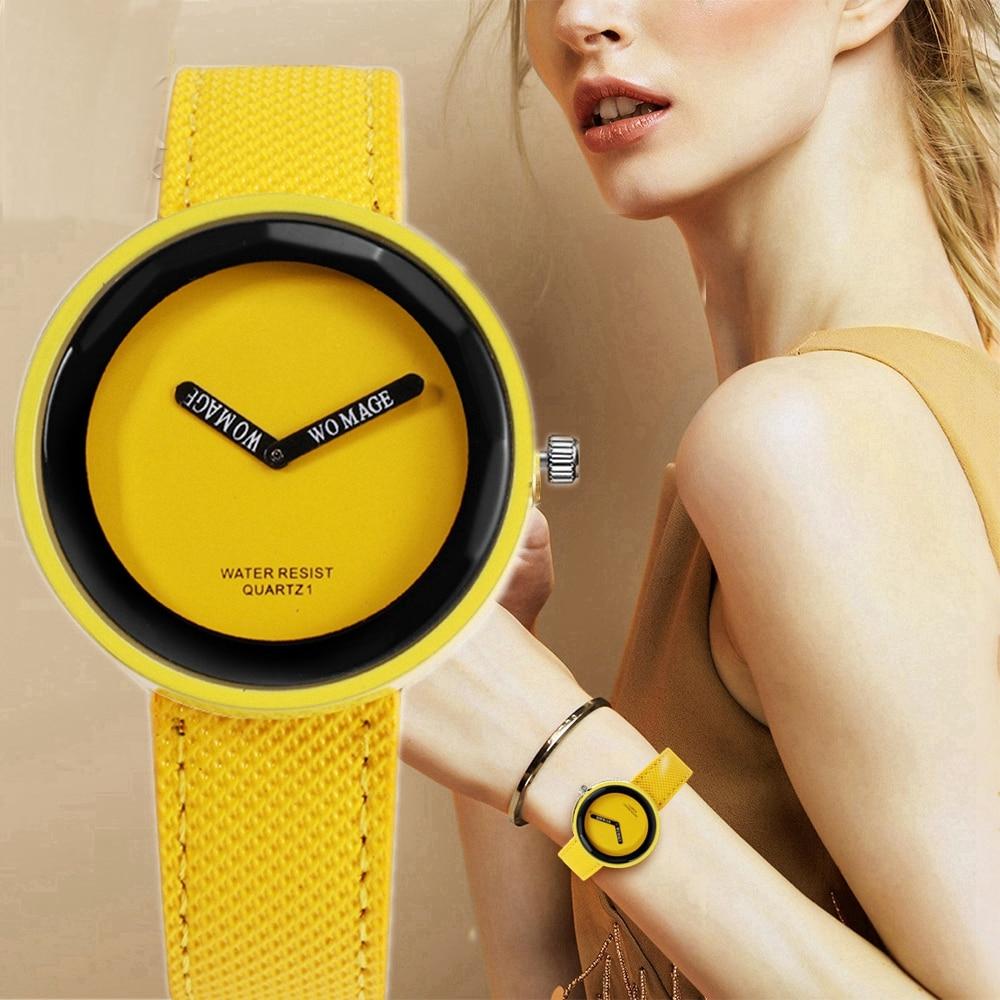 Women Watches Fashion Leather Women's Watch Quartz Ladies Wrist Watch Clock Reloj Mujer Relogio Femino 2019 Zegarek Damski
