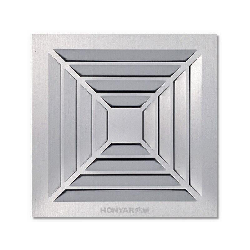 Kitchen Bathroom High Power Smoke Ventilator Exhaust Fan Integrated Ceiling Aluminum Gusset Energy Saving Mute Vent FanKitchen Bathroom High Power Smoke Ventilator Exhaust Fan Integrated Ceiling Aluminum Gusset Energy Saving Mute Vent Fan