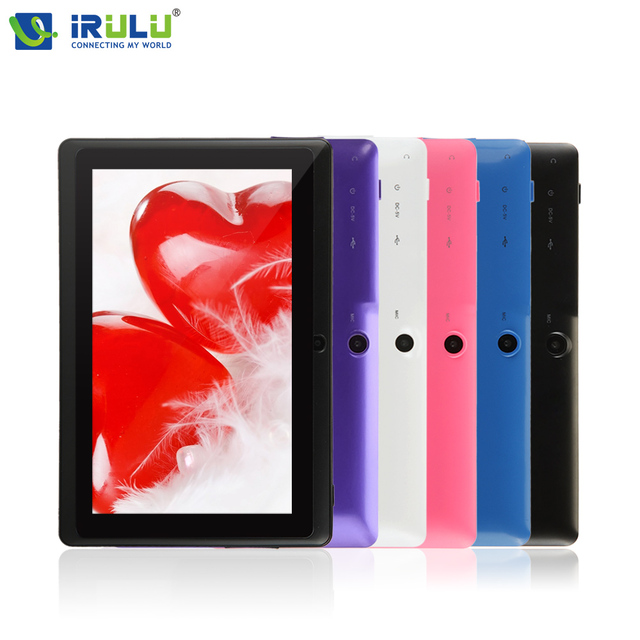 """iRULU eXpro X3 7"""" Tablet PC 8GB ROM Android 6.0 Quad Core Tablet 1024*600 HD Dual Cam Support Google Play WIFI"""