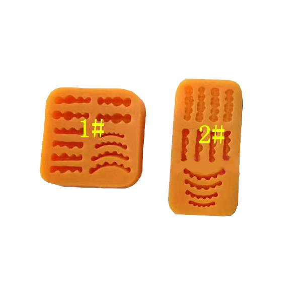Dental Lab Denture Laboratory Wax Teeth Tooth Rubber Model Inverted Mold 1pcs Wax Rubber Model Base