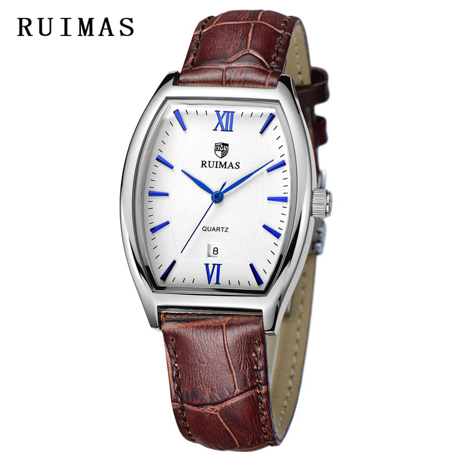 RUIMAS 패션 최고 브랜드 크로노 그래프 손목 시계 - 남성 시계