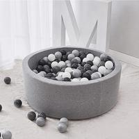 Indoor Soft Comfortable Kids Play Ball Pool Quality Sponge Ocean Ball Pool Deluxe Baby Round Ball Pit Ideal Gift Play