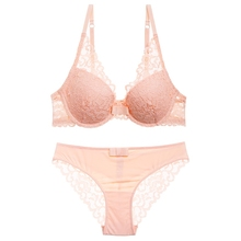 Panties S72 Hot Back Closure Solid Bra Bright New Ladies Fashion Embroidery Lace Floral Bra Set Lingerie B Cup Adjustable Push Up Bra Back To Search Resultsunderwear & Sleepwears Bra & Brief Sets