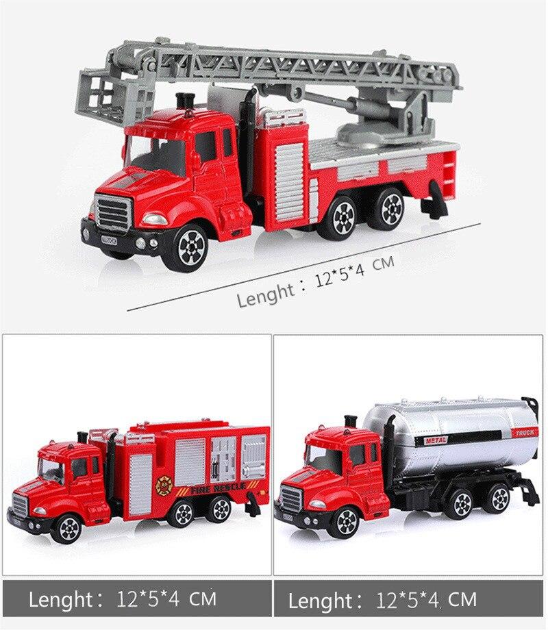 samochodzik dla strażacki Mini 6