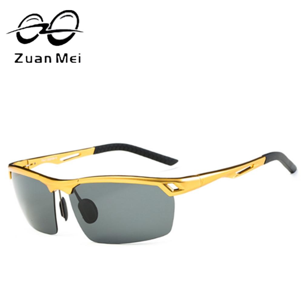 72b62ba8439 Aluminum magnesium Alloy Men s Polarized Sunglasses Driving Mirror Glasses  male Goggles eyewear Fashion Driving Sunglasses ZM26