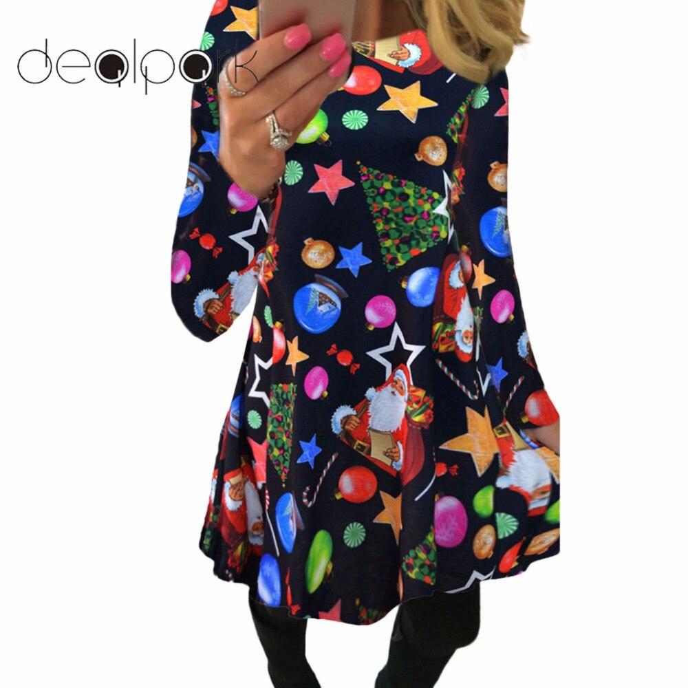Buy christmas dress plus size and get free shipping on AliExpress.com 3ac2b5c26cf0
