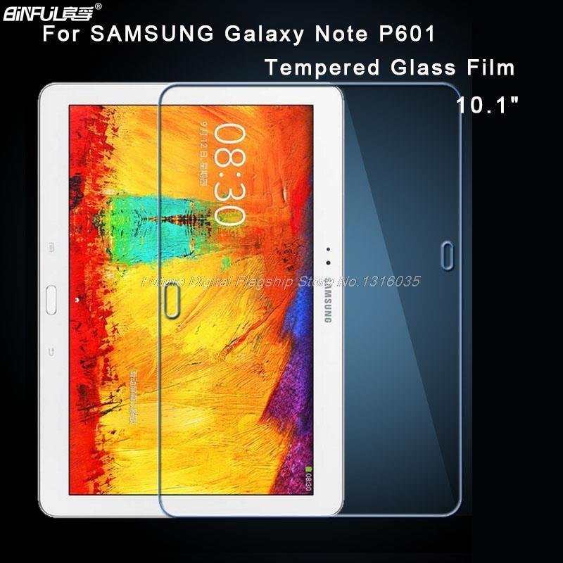 9H 0,3 rūdītais stikls Samsung Galaxy piezīmēm 10.1 P600 P601 - Planšetdatoru piederumi