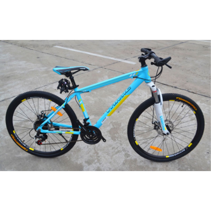 Mountain Bicycle Bike No Rear Shock Absorber Double Disc Brake Oil And Gas  Fork Hot Sale Men And Women 21 Speed 26 Inches