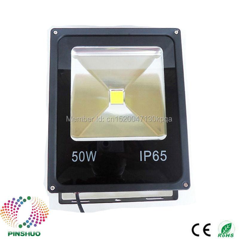(8PCS / Lot) DC12V 24V Garanti 3 år Brigdelux Chip 50W LED Flood Light 12V LED Floodlight Outdoor Tunnel Spotlight Lampa