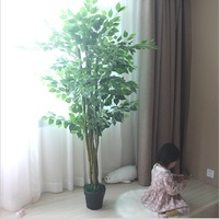 artificial banian stage set large scale artificial tree plant trees Decorative green plant false blossom