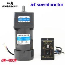 60 Вт 220 В переменного тока бесступенчатый редуктор скорости 5IK60RGN-CF+ регулятор скорости