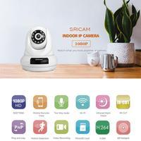 Sricam SP018 WifI IP Camera PTZ 4x Digital Zoom Security Camera Support Micro SD Card CMOS P2P 2MP CCTV Full HD 1080P Camera