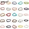 WarBLade Irregular Natural Gem Stone Bracelet Stretch Chip beads Nuggets Amazon Rose Crystal Quartz Bracelets Bangles For Women