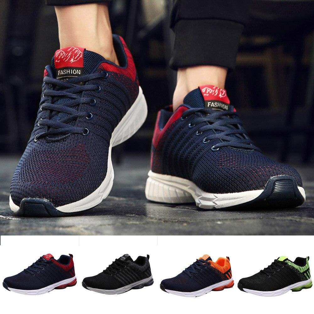 Diplomatisch Laufschuhe Männer Outdoor Sport Atmungs Casual Schuhe Gym Lauf Turnschuhe Skateboard Schuhe Turnschuhe Männer Schuhe #9 Mit Dem Besten Service