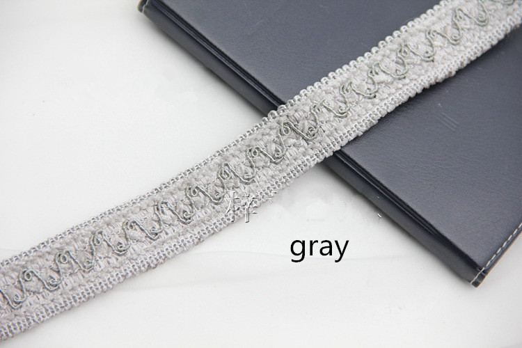 XWL 12M/Lot 3cm Width Lace Trim Edging Wedding Garment Pillow Braid - Arts, Crafts and Sewing - Photo 4