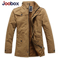 JOOBOX Brand Men Jacket 2016 3 Color Large Size Cotton Thickening Winter Jacket Men Casual Worm Coat