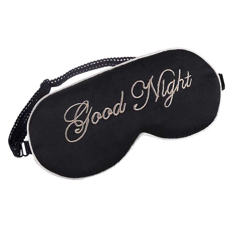 100 m rier couverture des yeux de soie bonne nuit de. Black Bedroom Furniture Sets. Home Design Ideas