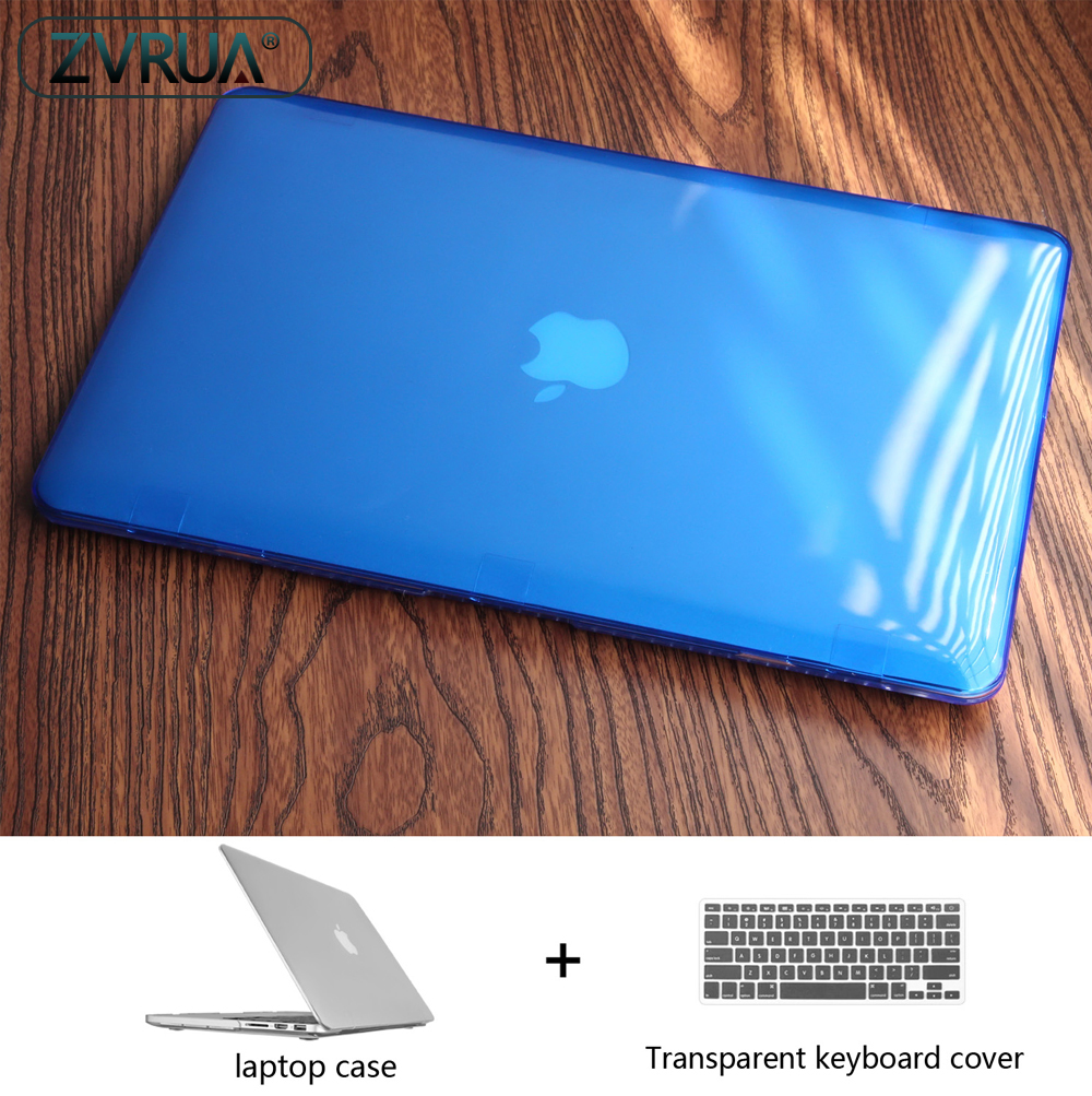 Crystal Laptop Case for MacBook 12 / Air 11.6 13.3 / Pro Retina 13 15