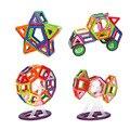 32 unids enlighten bricks educativos magnética juguete de diseño cuadrado triángulo hexagonal 3d diy bloques de construcción