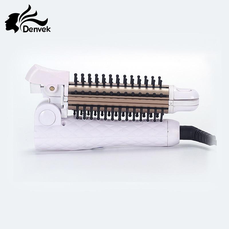 Fold Multifunctional curler/straightener 2 in 1 Corrugation hair straightener curling iron 110-240V Hair styling iron цена