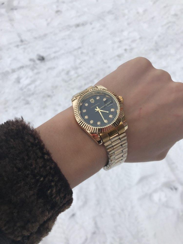 SOUTHBERG Gold SilverWatch MenWatches Top Brand Luxury Famous Wristwatch Male Clock Golden Quartz Wrist WatchCalendar Relogio