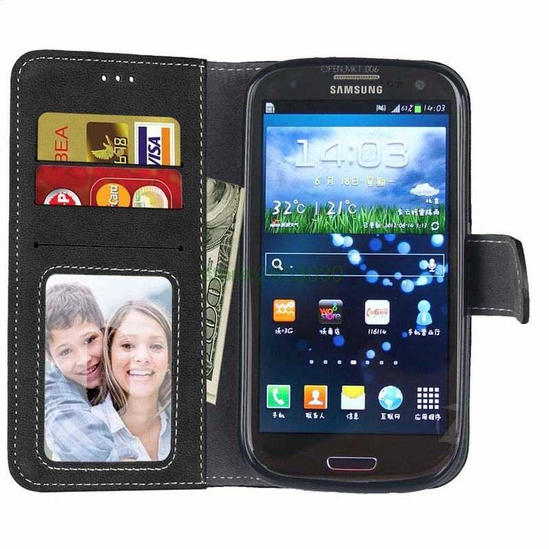 Da Mờ Ốp Lưng Dành Cho Samsung Galaxy Samsung Galaxy S3 Ốp Lưng Ví Bao Da Flip Cover Dành Cho Samsung Galaxy Samsung Galaxy S3 Neo GT-i9300 Duos GT-I9300i I9300 GT-I9300