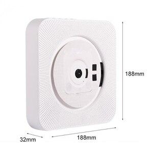 Image 4 - נייד CD MP3 Bluetooth נגן קיר Mountable בית אודיו Boombox רמקול טרום לידתי עם שלט רחוק FM רדיו USB מהדר