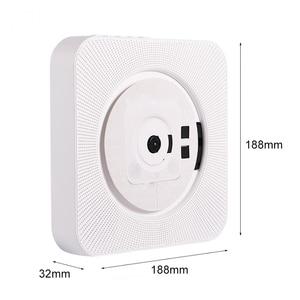 Image 4 - Портативный CD MP3 плеер Bluetooth, настенный домашний аудио магнитофон, динамик, пренатальный с дистанционным управлением, fm радио, USB репитер