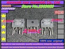 Aoweziic 100% yeni orijinal 2KBP06M GBJ2510 GBJ3510 D25SB80 D3SBA60 D3SB80 doğrultucu köprü