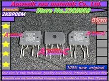 Aoweziic puente rectificador, 100% original, 2KBP06M GBJ2510 GBJ3510 D25SB80 D3SBA60 D3SB80