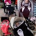 Tiburón de la historieta del Cochecito de Bebé Para Dormir Bolsa De Cochecito de Bebé Cochecito de Bebé Manta Swaddle Invierno Cochecito de Bebé Accesorios SD02