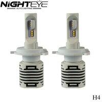 2 Cái H4 LED Auto Car Đèn Pha 80 Wát 12000LM Tất Cả Trong Một Car LED Đèn Pha Bulb Xe Styling Sáng Đèn Đèn Sương Mù Trắng 6500 K 12 V
