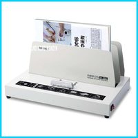 A4 Size Binding Machine Electric Thermal Binder Hot Melt Binding Machine Glue Binding Machine 220V 3 minutes Warm up 40mm 3882