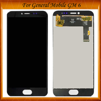 100% Tested OK For General mobile GM 6 GM6 Android one LCD Replacement Digitizer Touch Screen + LCD Display Assembly