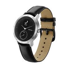 Withings HR 40mm Reloj de Acero Pulseras Accesorios, de Cuero de lujo Banda de Reemplazo Correa de Pulsera Smartwatch para Withings