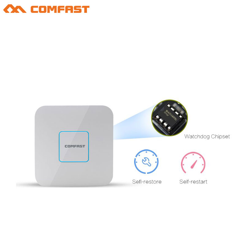 COMFAST CF-E355ACV2 1200Mbps Ceiling AP WiFi Access Point 5GHz Indoor AP Wi-Fi Router 802.11ac/b/g/n 48V POE OpenWRT Wireless AP