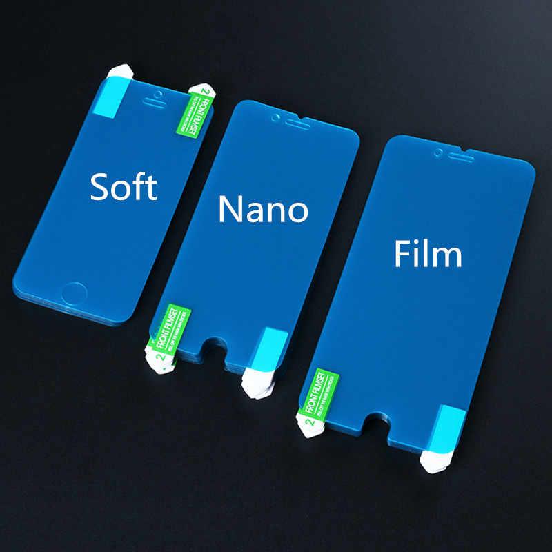 Udapakoo temizle Temperli yumuşak cam filmi Ulefone Güç Nano Patlamaya dayanıklı cam Ekran Koruyucu