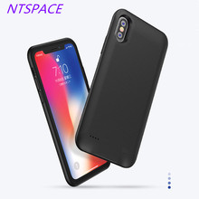 5000mAh Extended Phone Battery Power Case For iPhone X Portable Charge Cover  Backup