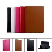 "High Quality Cowhide Genuine Leather Case for Samsung Galaxy Tab S2 9.7"" Business Stand Smart Cover for Samsung Tab S2 T810 T815(China)"