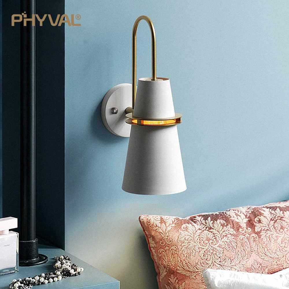 Настенный светильник Macaron креативный люминесцентный прочный безопасный утепленный 12 см Железный Base14cm Железный Абажур без сборки требуется e27 Бесплатная доставка