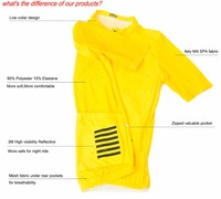 2016 Best Quality Clamber MEN WOMEN PRO TEAM AERO TIGHT FIT CYCLING JERSEY ROAD MTB Cycling