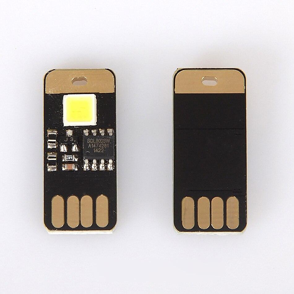 Livarno led night light - 5pcs Lot Portable Dual Touch Switch Single Led Night Light Mobile Camping Lamp Usb Gadgets