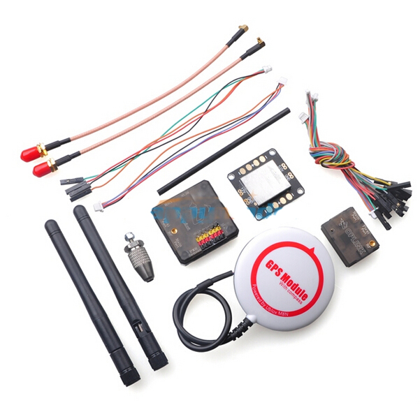 OpenPilot CC3D Revolution Flight Controller+NEO-M8N GPS+OPlink Transceiver+Power Distribution Board Combo for FPV Multicopter apm2 8 ardupilot flight control with compass 6m gps power distribution board gps folding antenna 5 8g 250mw tx for diy f15441 c