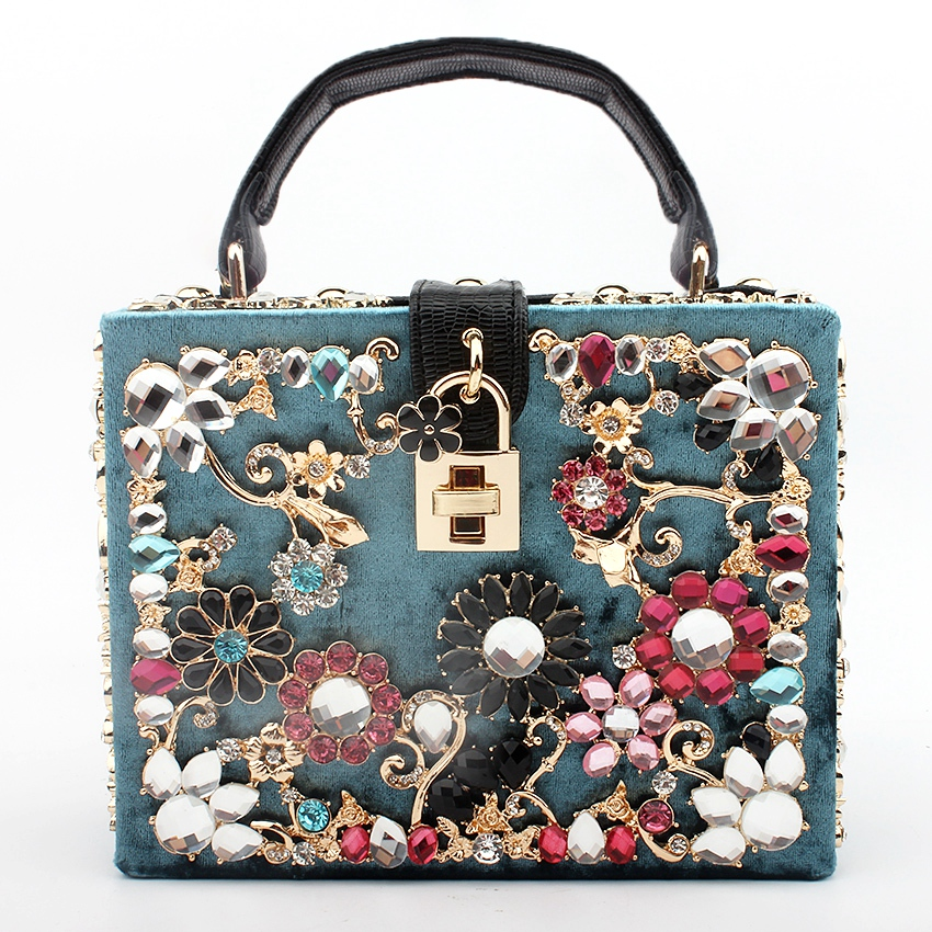 bags for women 2019 clutch bag diamonds flower shoulder bag evening bag bolsa feminina luxury handbags women bags designer tote
