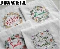 4pcs Lot 45x70cm Cotton Dishtowel Kitchen Towel Dish Towel Cleaning Cloth Tea Towel Printed Ultra Large