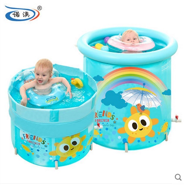 US $98.0 |Size:80*80cm,Alloy Bracket ,Can Be 5 Gear Lift Clip,Baby Swimming  Pool ,The Bottom of the Heat Insulation Cotton-in Inflatable & Portable ...