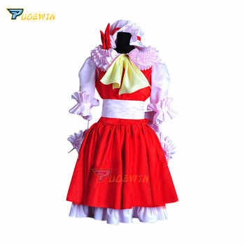 Anime Touhou Project Flandre Scarlet Hakurei Reimu Satin Cosplay Costume Custom Made - DISCOUNT ITEM  27% OFF All Category
