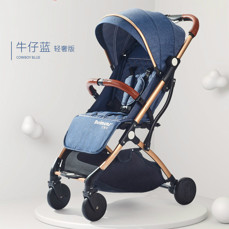 Baby trolley can sit on a four-wheeled childrens trolley, which can be laid down in a light portable folding baby umbrella car.Baby trolley can sit on a four-wheeled childrens trolley, which can be laid down in a light portable folding baby umbrella car.