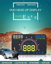 Car Stand Holder For Smart Phone E350 ABS Car HUD Head Up Display  OBD2 and EUOBD hud projector Interface windshield film 5 hot 4e car hud auto 5 5 hud head up display windscreen projector obd ii euobd car data diagnosis for audi volvo bmw honda
