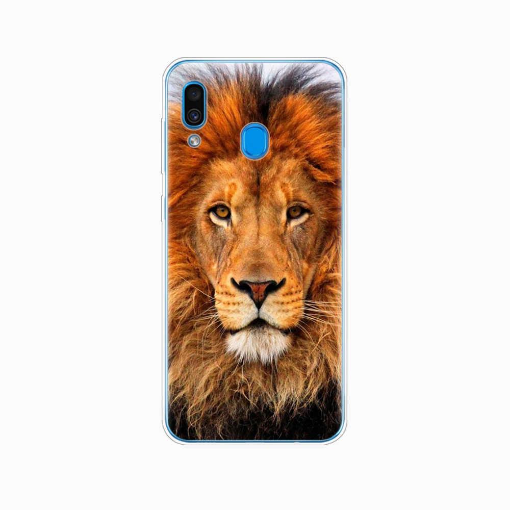 สำหรับ Samsung A50 สำหรับ Samsung Galaxy A50 A60 A10 A30 A40 A70 50 2019 A9 A7 2018 สิงโตใหญ่หิน